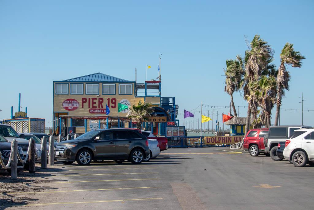 Pier 19 Parking Lot