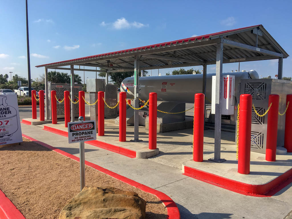 Pharr Costco Propane Filling Station