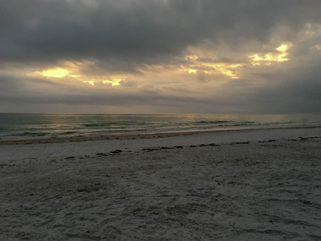 Longboat Key Sundown Over The Gulf