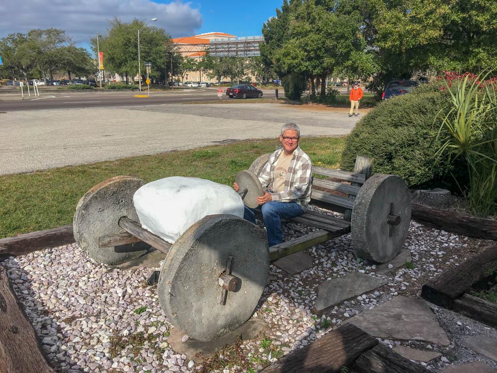 Test Driving The Flintstones Style Footmobile