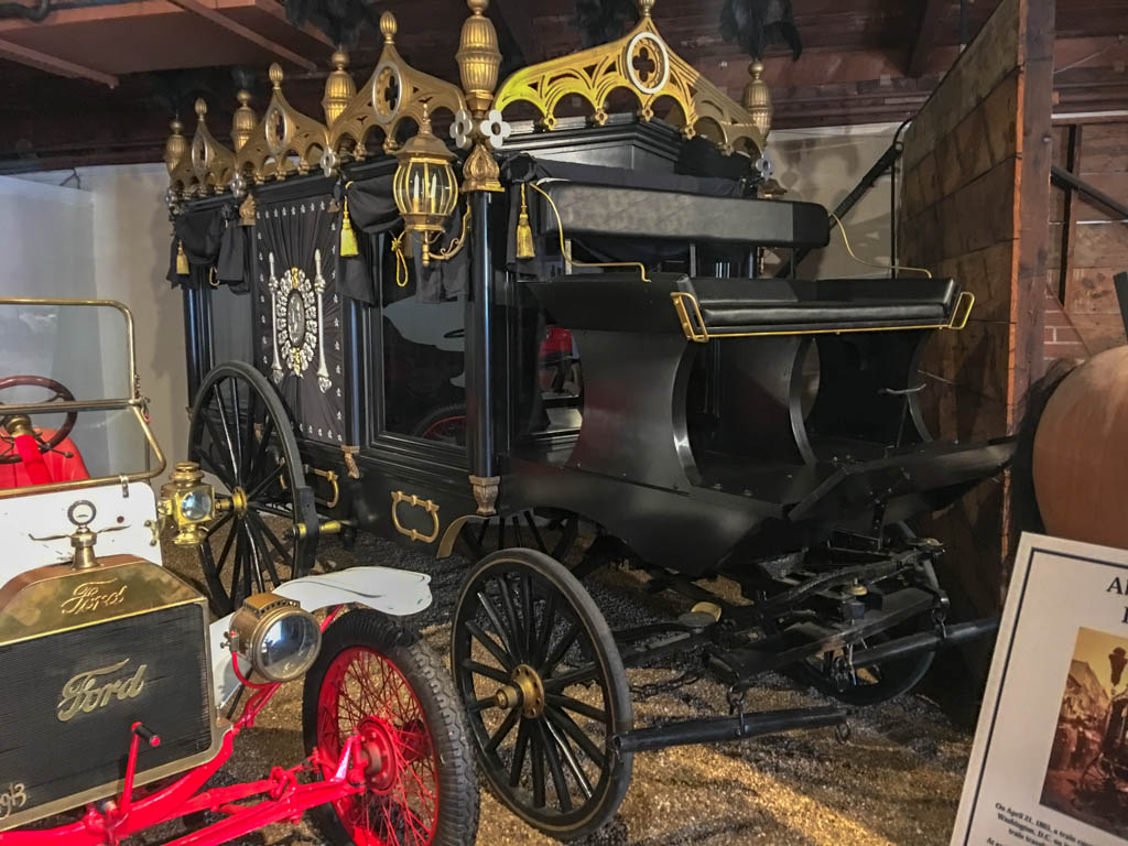 Historically Accurate Replica of Hearse That Bore President Lincoln to His Grave