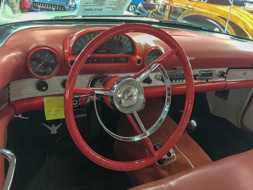 1956 Ford Thunderbird Dashboard