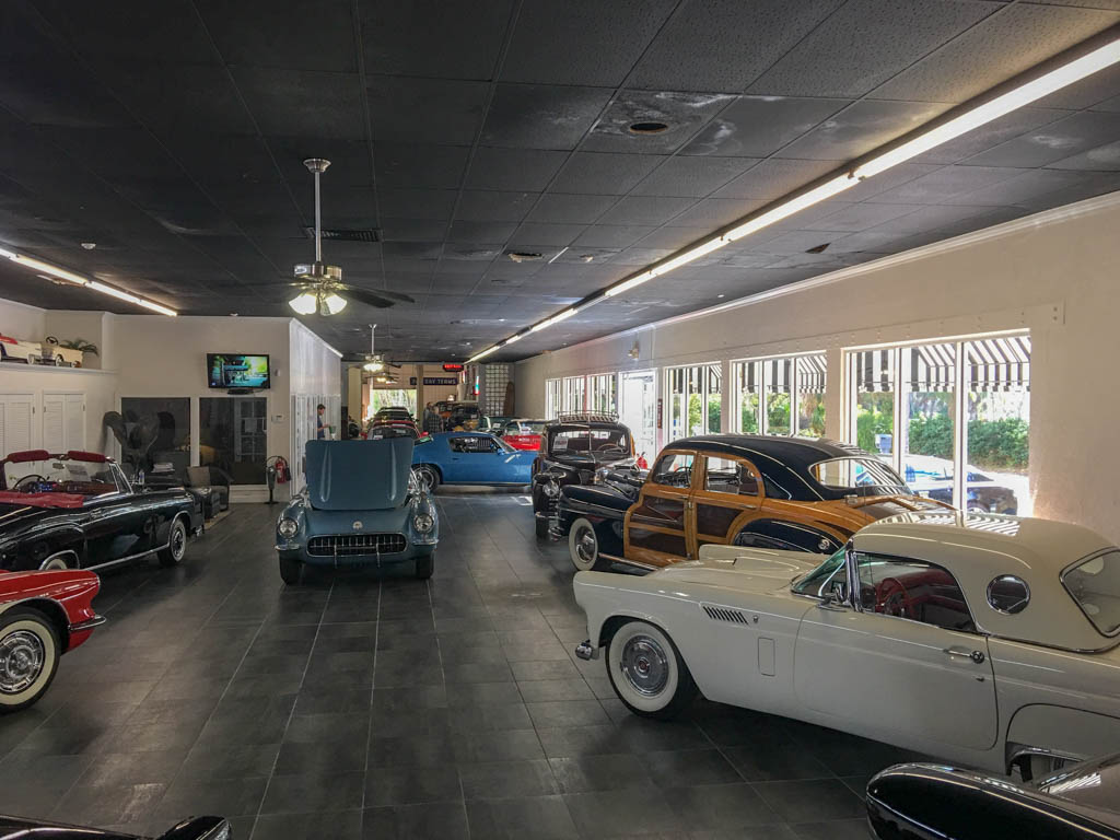 Vintage Motors of Sarasota Show Room