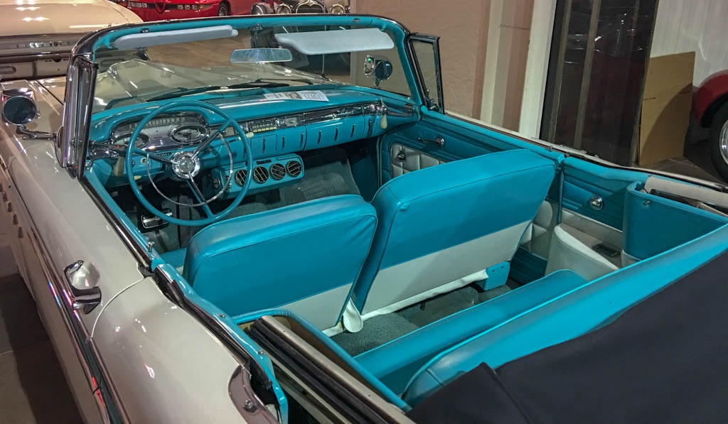 Ford Edsel Convertible Interior