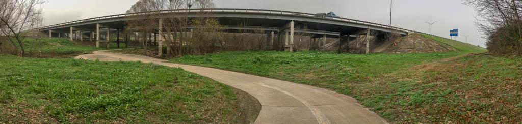 I-10 Overpass Over Salado Creek Greenway