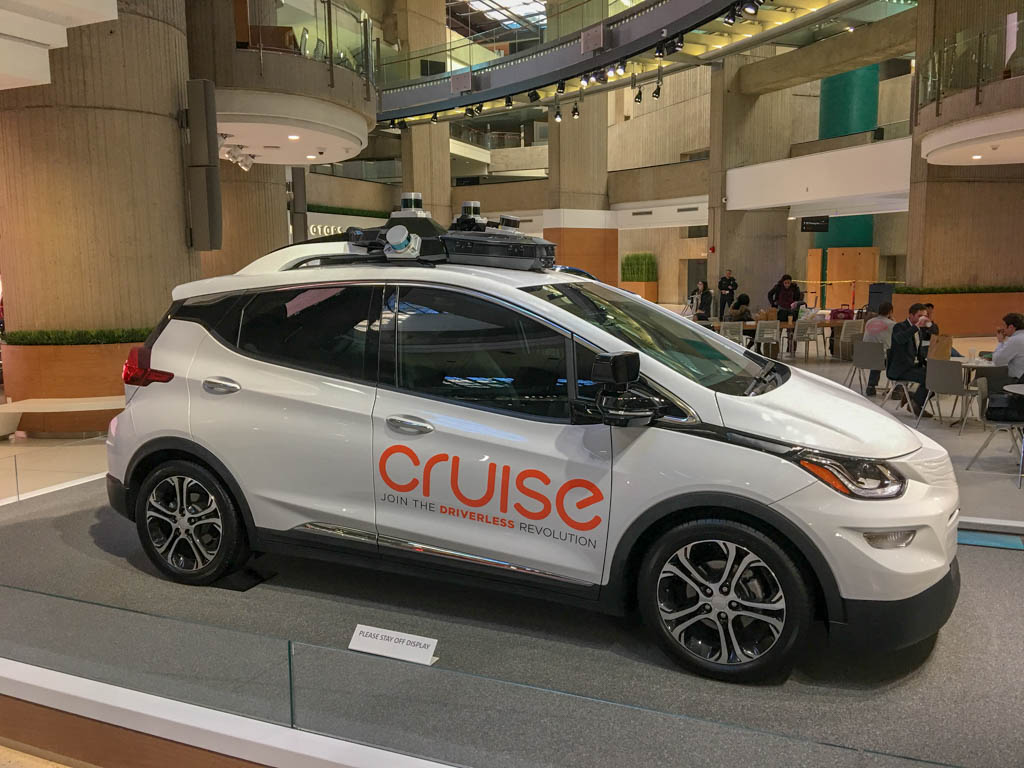 Modified Chevy Cruise Research Vehicle