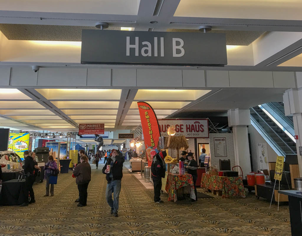 Hall B - Entryway To The Auto Show