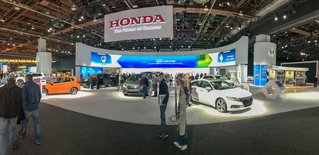 Honda Display Space