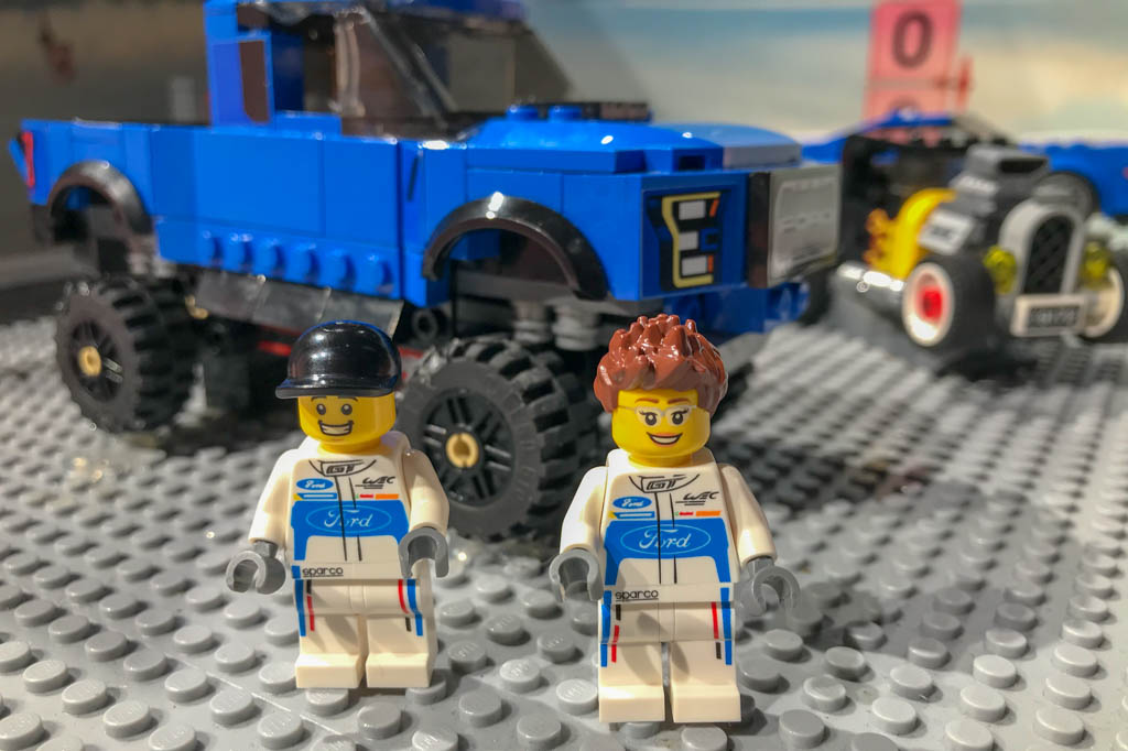 First Day Lego People Build