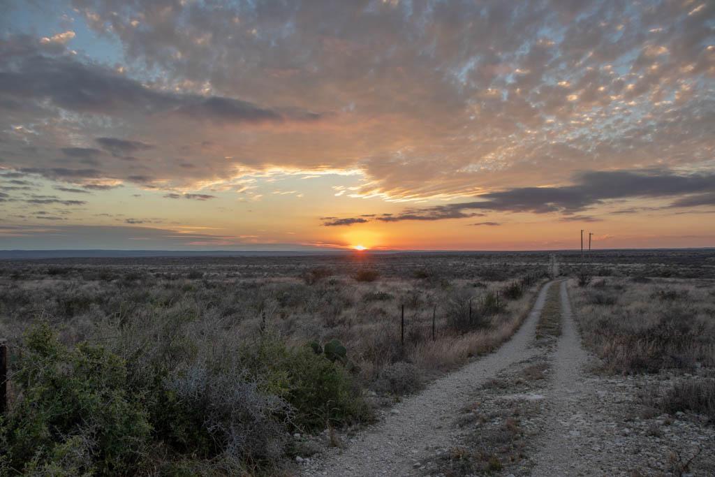 Sunset from Desert Vista Camping Area