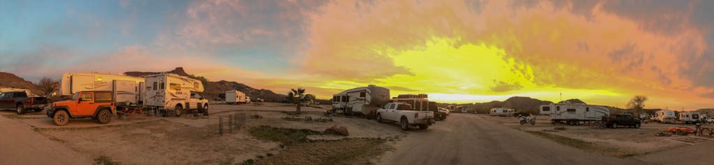 Campsite Sunrise