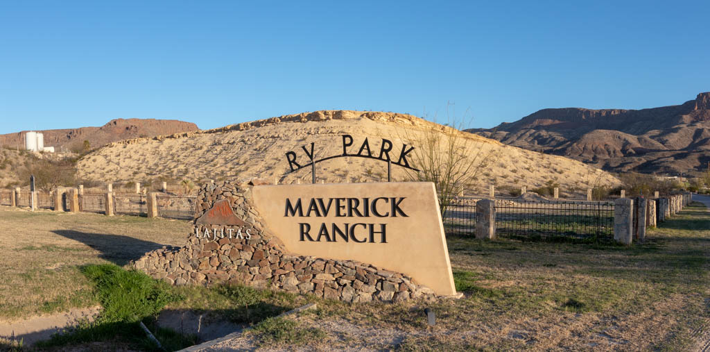 Maverick Ranch RV Park In Lajitas Texas