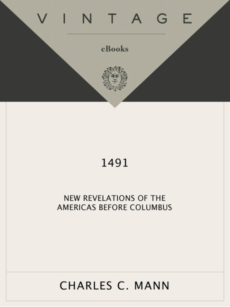 1491 By Charles Mann