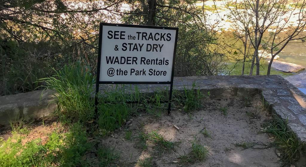 Wader Rentals At The Park Store