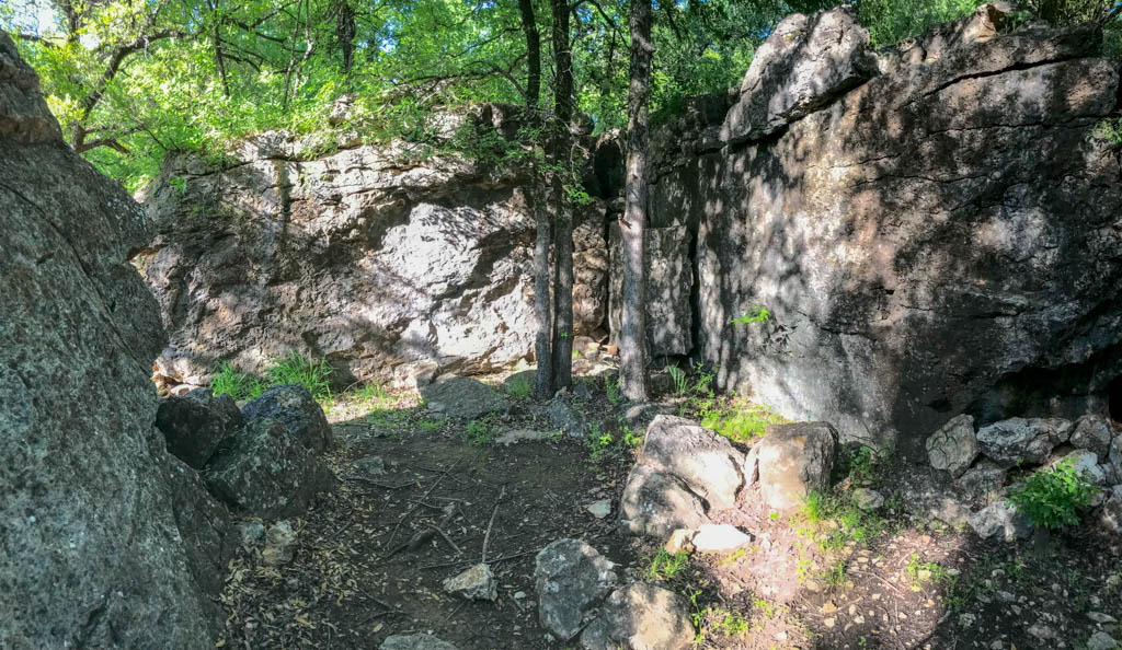 Boulder Field Trail Diversion