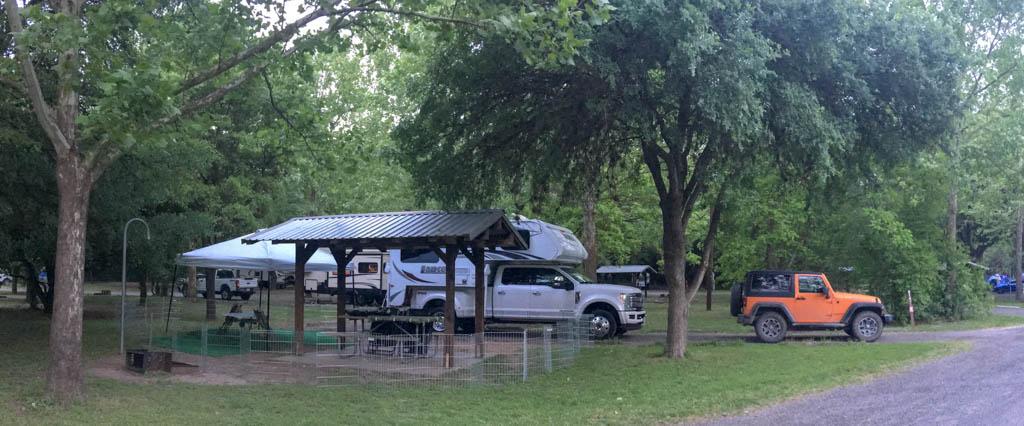 Blanco State Park Campsite