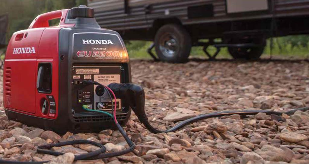 Honda Generator Brochure Picture