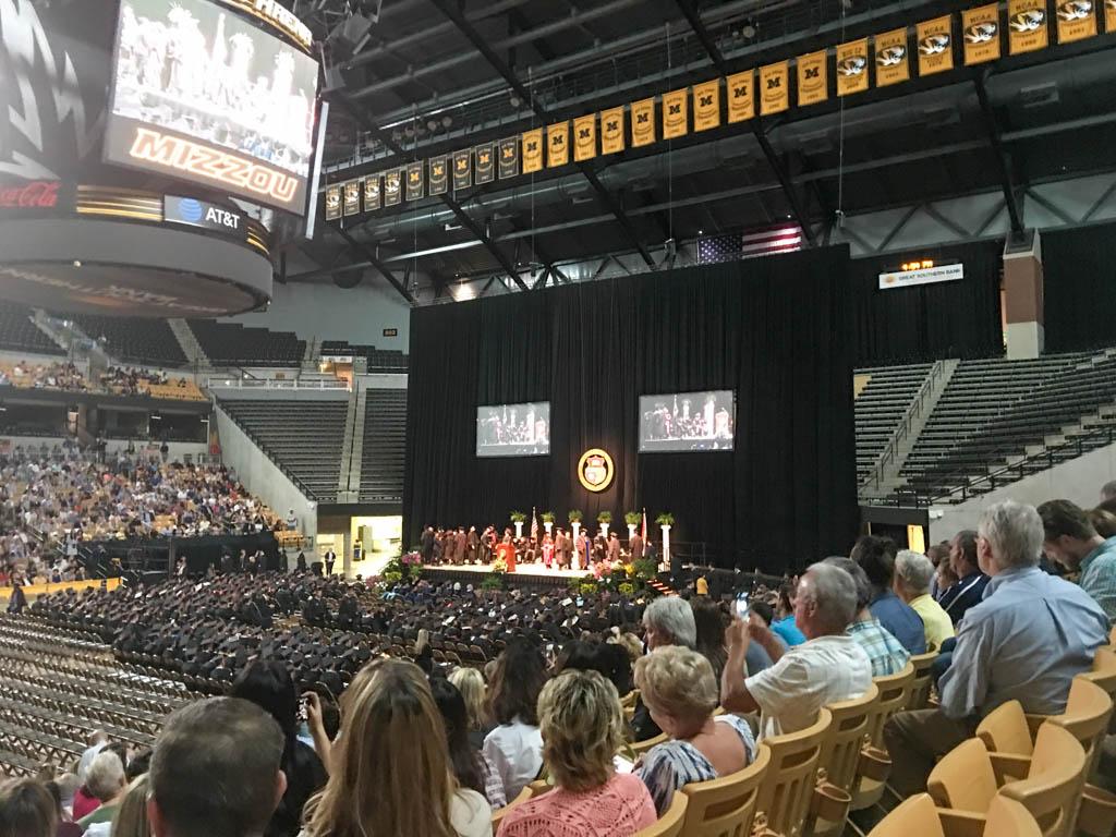 2019 Mizzou School of Engineering Graduation Ceremony