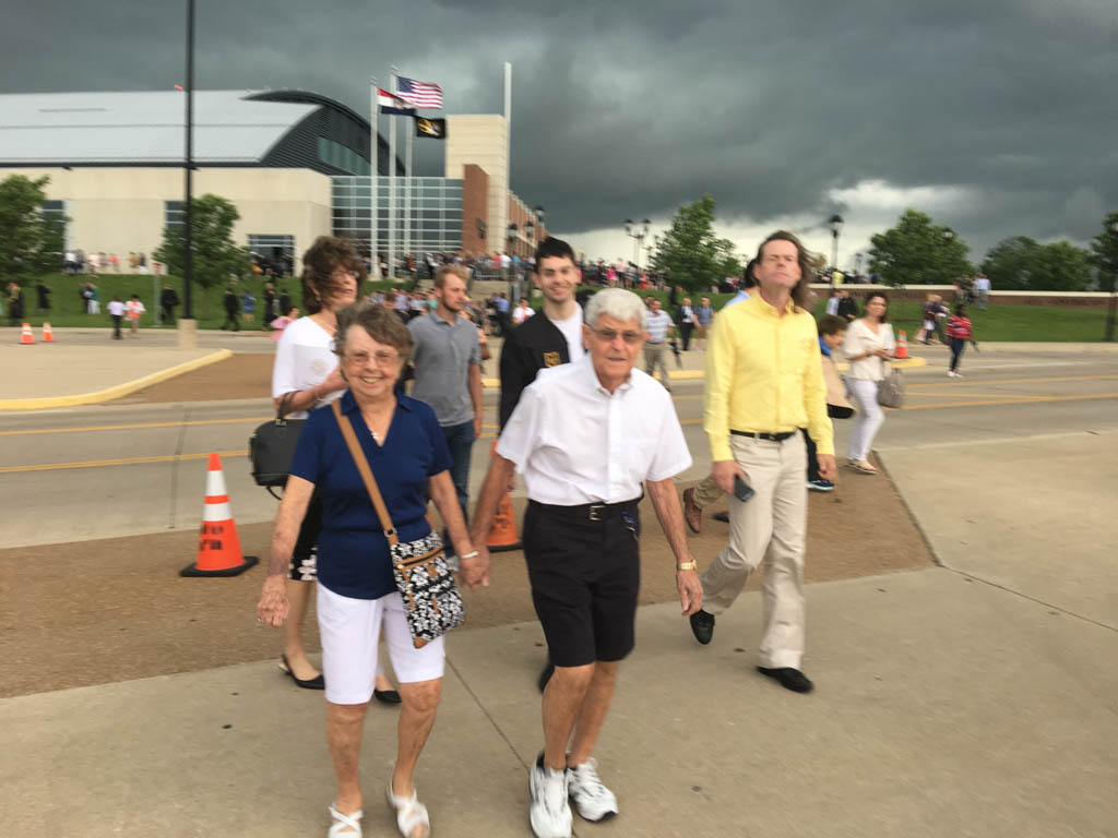 Storm Coming Fast To Mizzou Campus