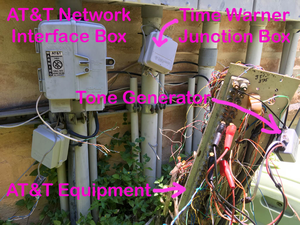 AT&T U-verse Network Interface Box