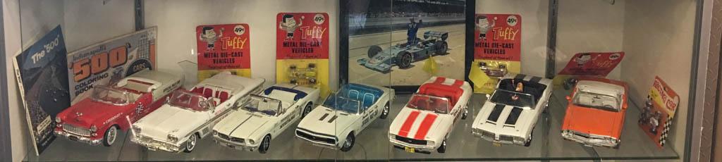 Pace Car Models at Charlie Browns Pancake & Steak House
