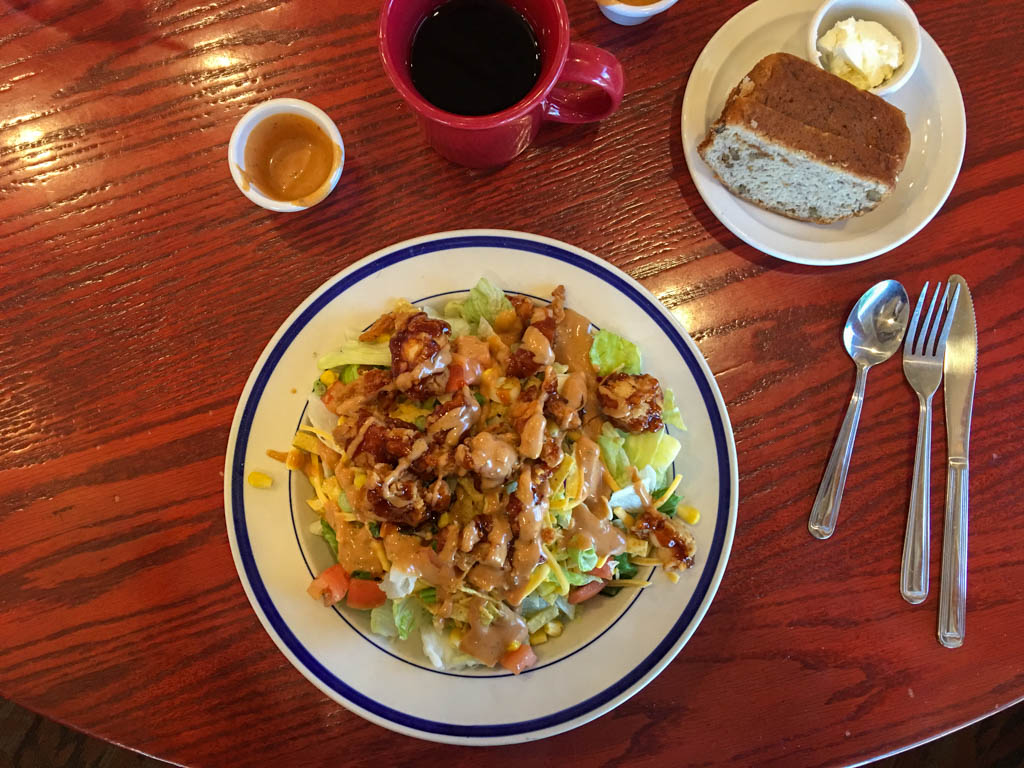 Wildfire Chicken Salad With Banana Bread