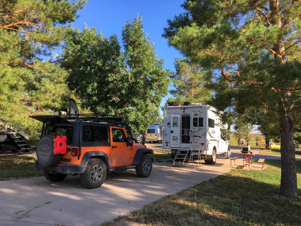 Fort Collins North KOA Premium Site
