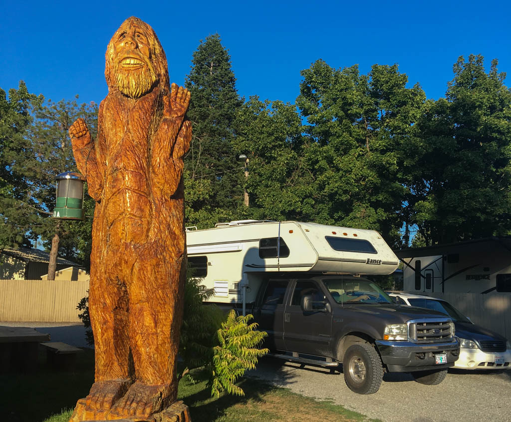 Bigfoot Totem