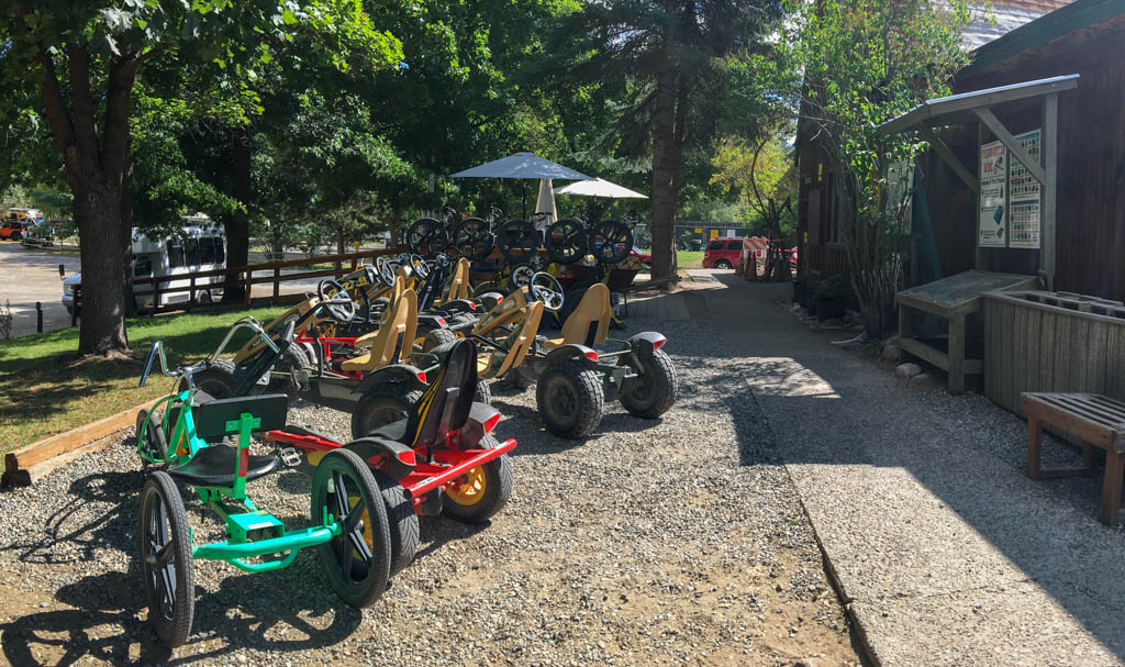 Pedal Powered Tricycles and Four-Wheelers