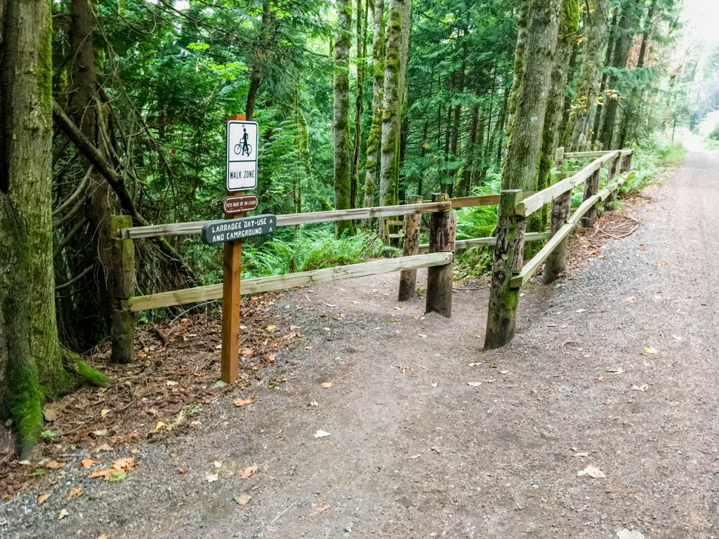 Trail To Chuckanut Drive And Larrabee State Park