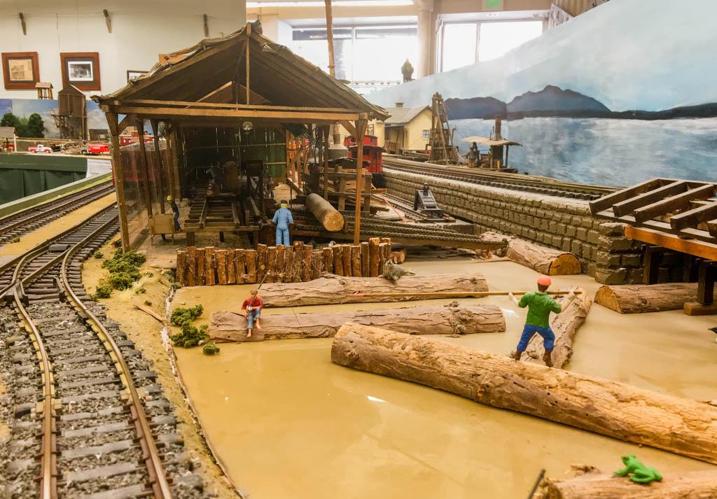 Lumber Mill Scene