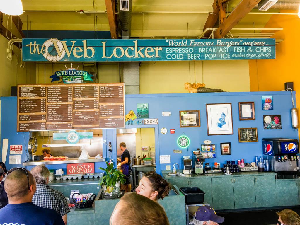 The Web Locker Restaurant