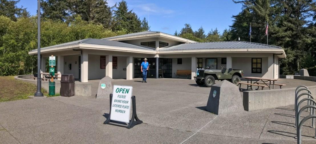 Fort Stevens State Park Ranger Station