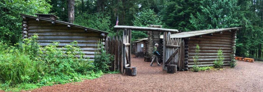 Fort Clatsop Main Gate