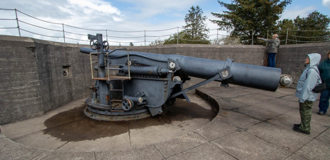 Battery Russel 10 Inch Disappearing Rifle