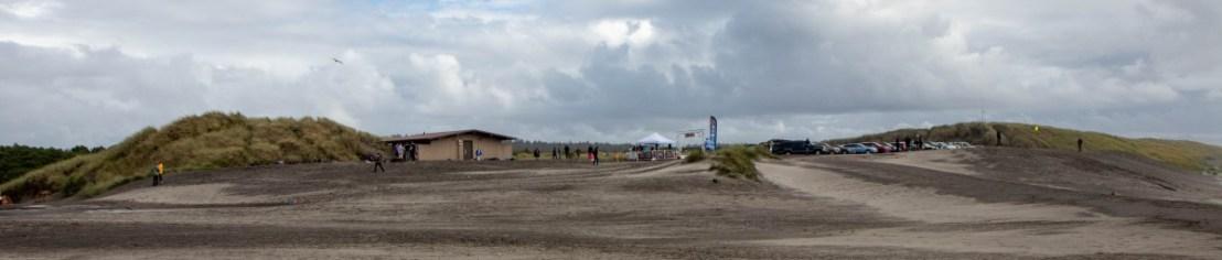 Beach Marathon Finish Line