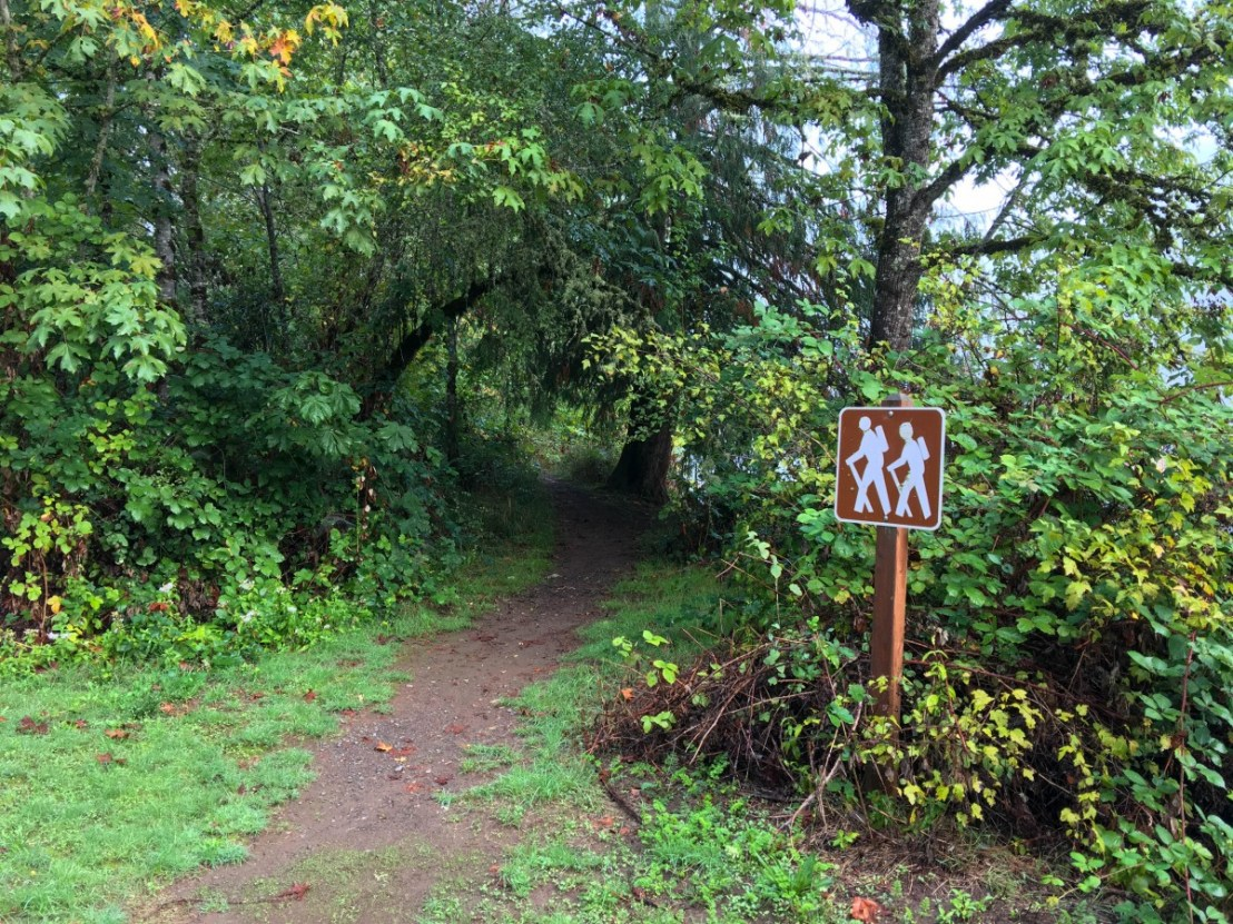 Trail and Trail Marker