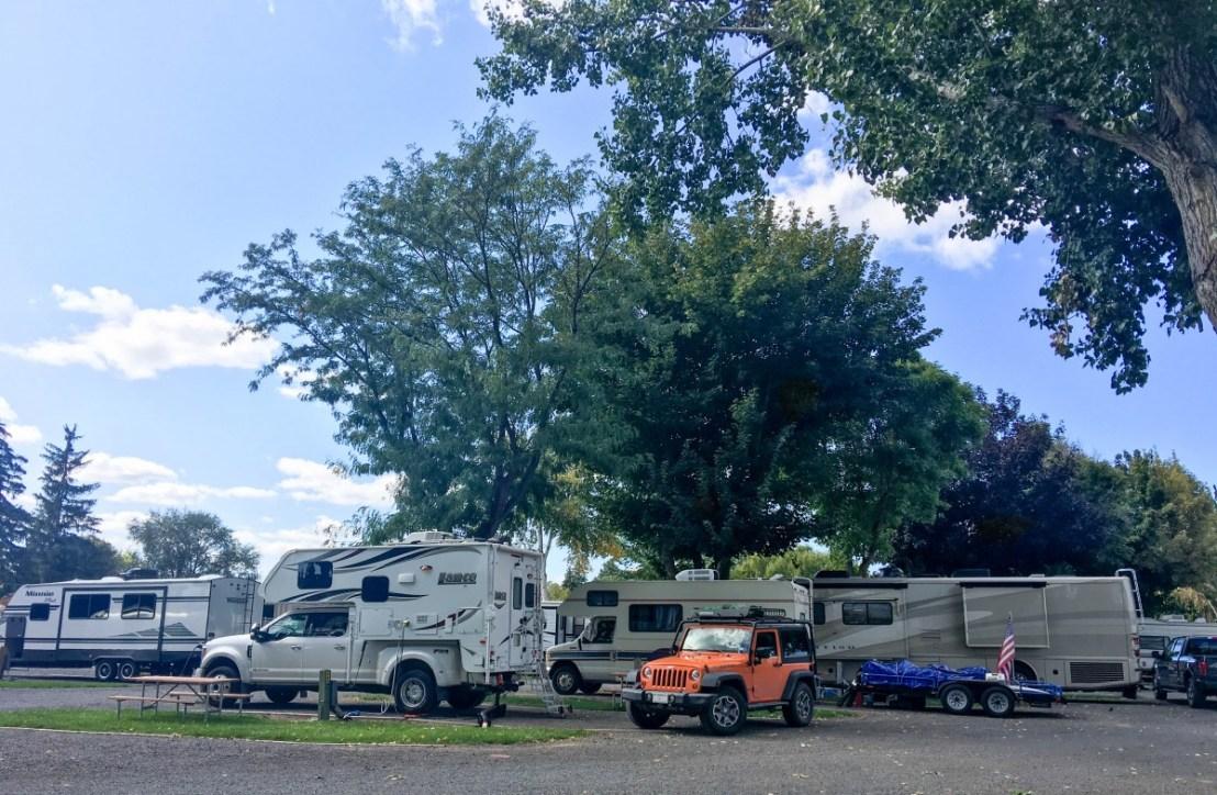 Klamath Falls KOA Campsite