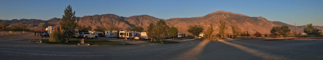 Campground At Sunrise