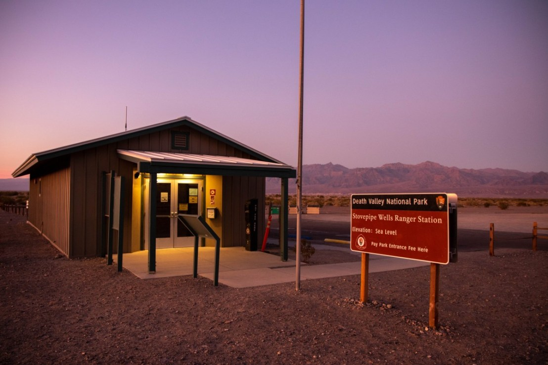 Stovepipe Wells Ranger Station