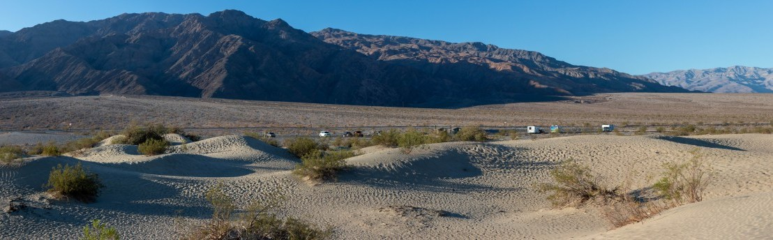 Death Valley National Park – Mesquite Flats Sand Dunes