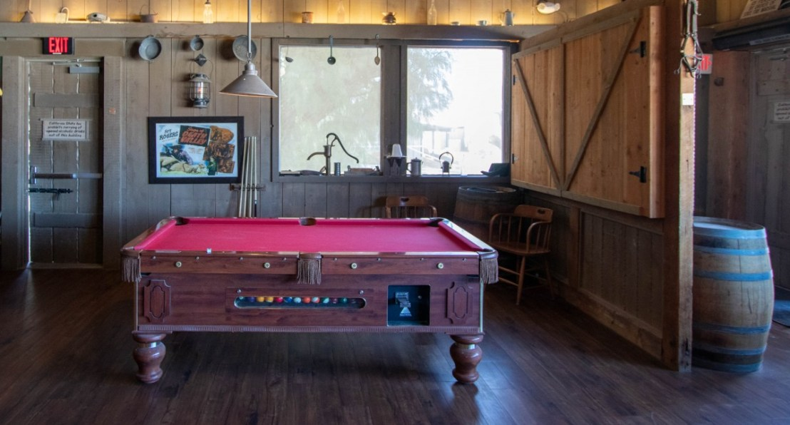 Badwater Saloon Pool Table