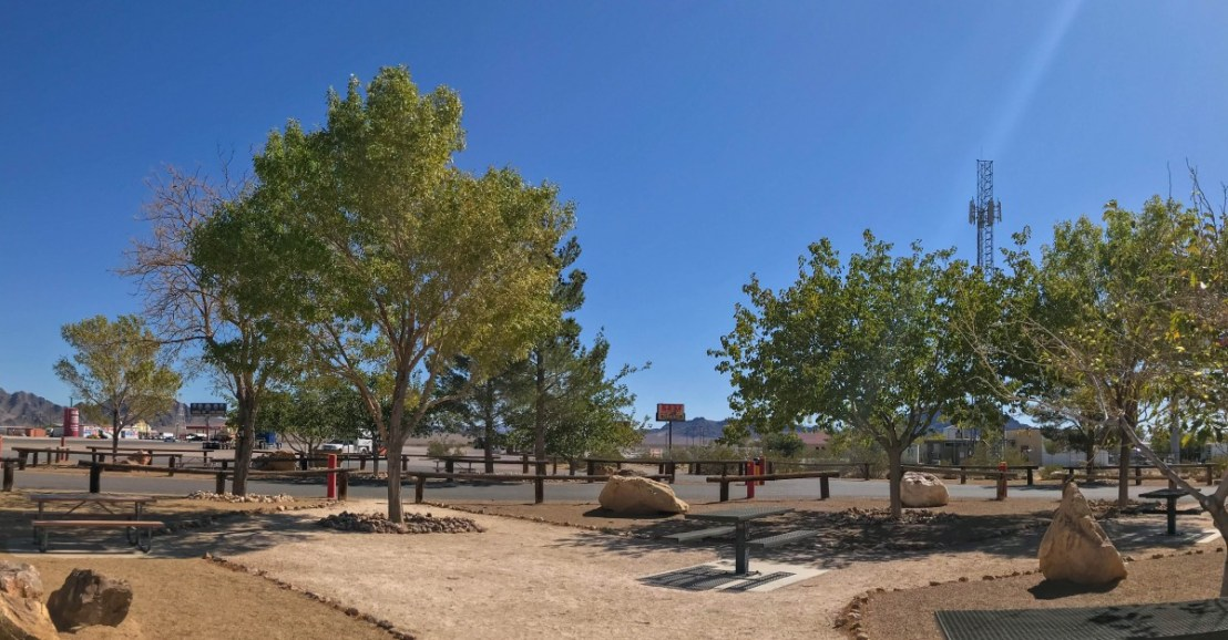 Amargosa Valley Rest Area And Parking