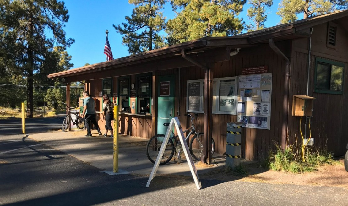 Grand Canyon National Park Mather Campground Camper Services Building