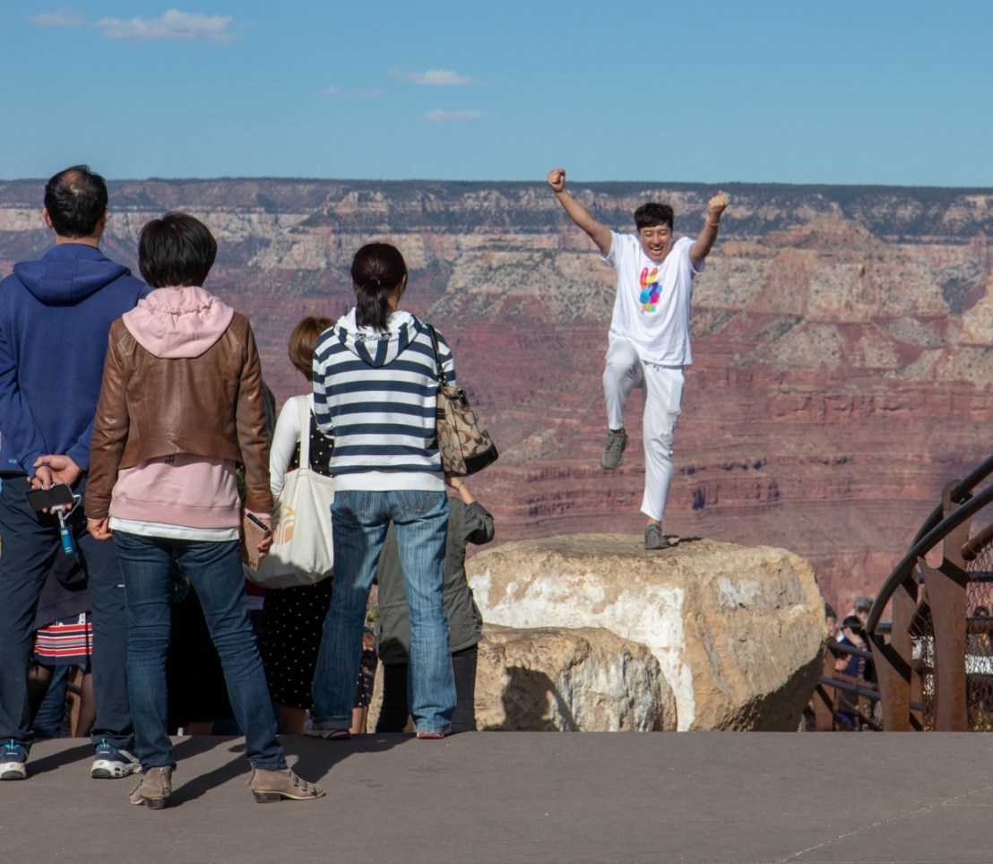 Mather Point In The Afternoon