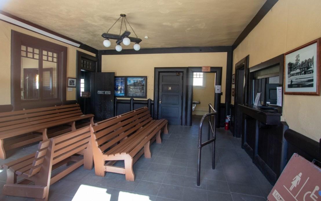 Santa Fe Station Interior