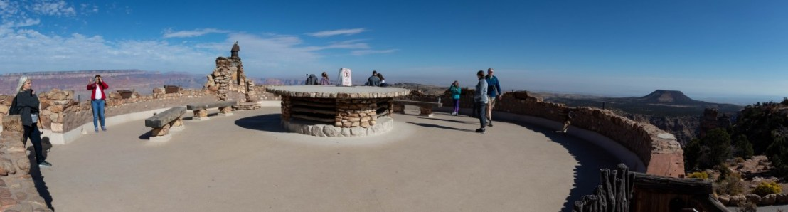 Desert View Watchtower Rooftop Viewing Area