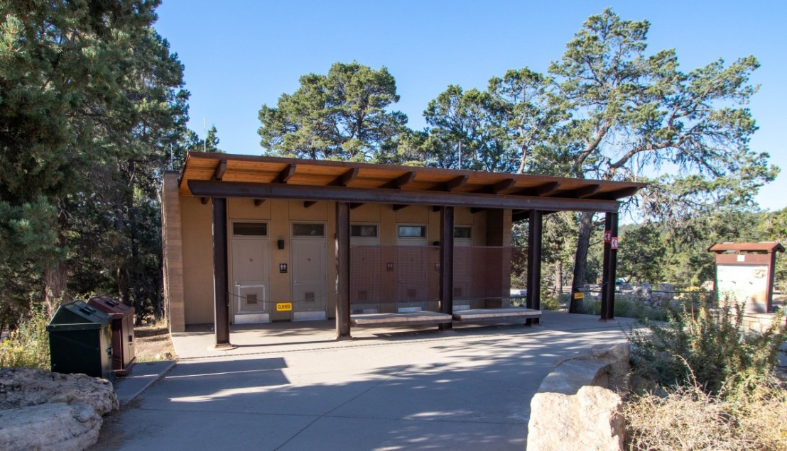 Grand Canyon National Park Bright Angel Trailhead Restrooms