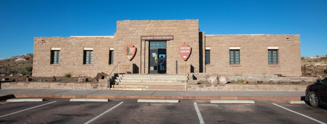 Petrified Forest National Park Rainbow Forest Museum and Visitor Center