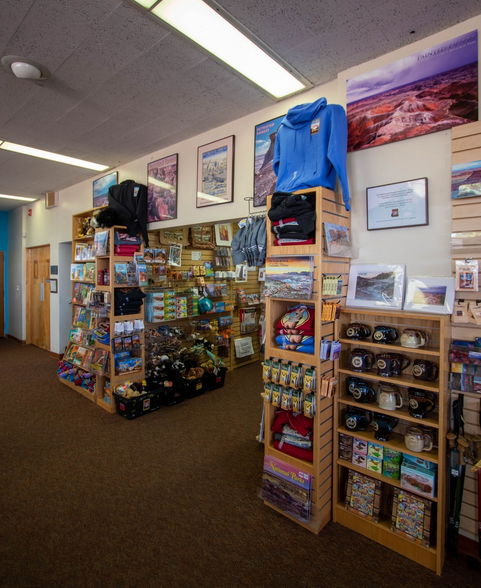 Petrified Forest National Park Painted Desert Visitor Center Gift Shop